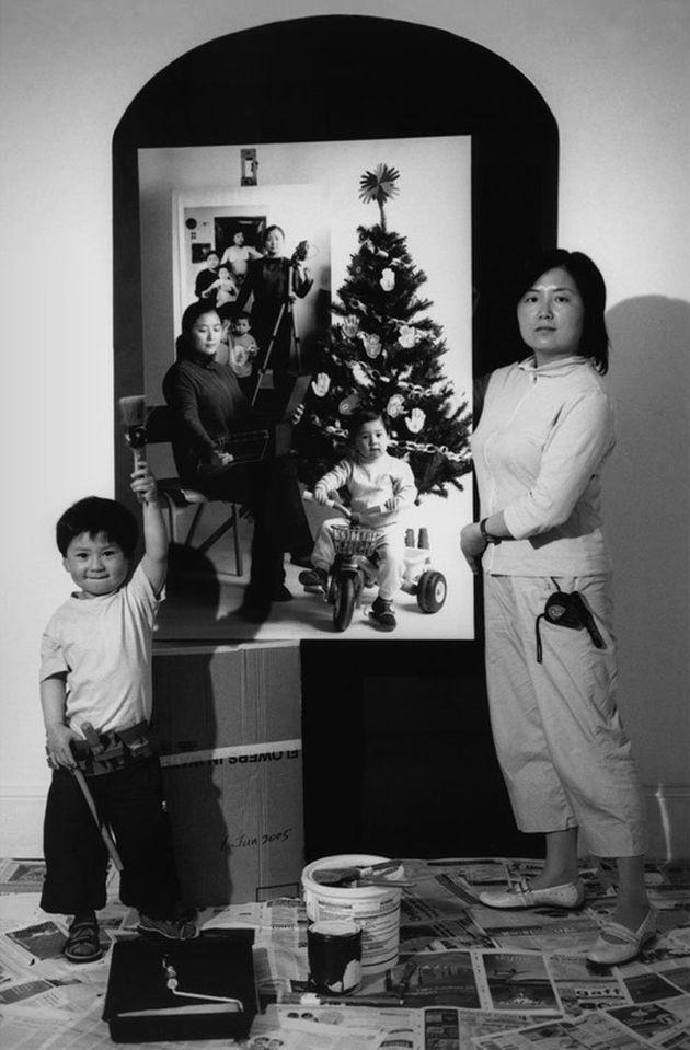 아들과 함께한 17년을 한 장의 사진에 담은