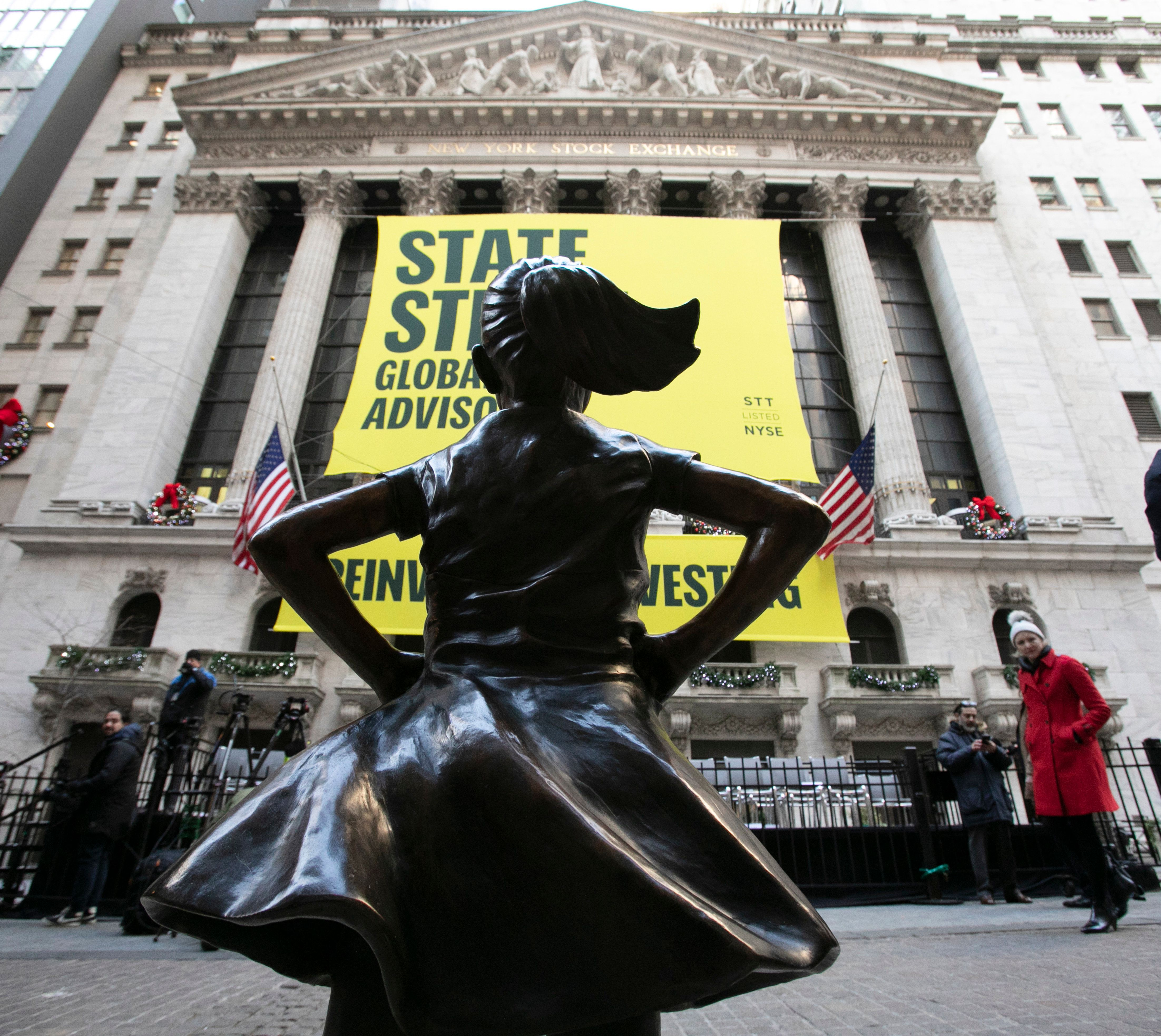 Fearless Girl Will Now Face Down The New York Stock Exchange