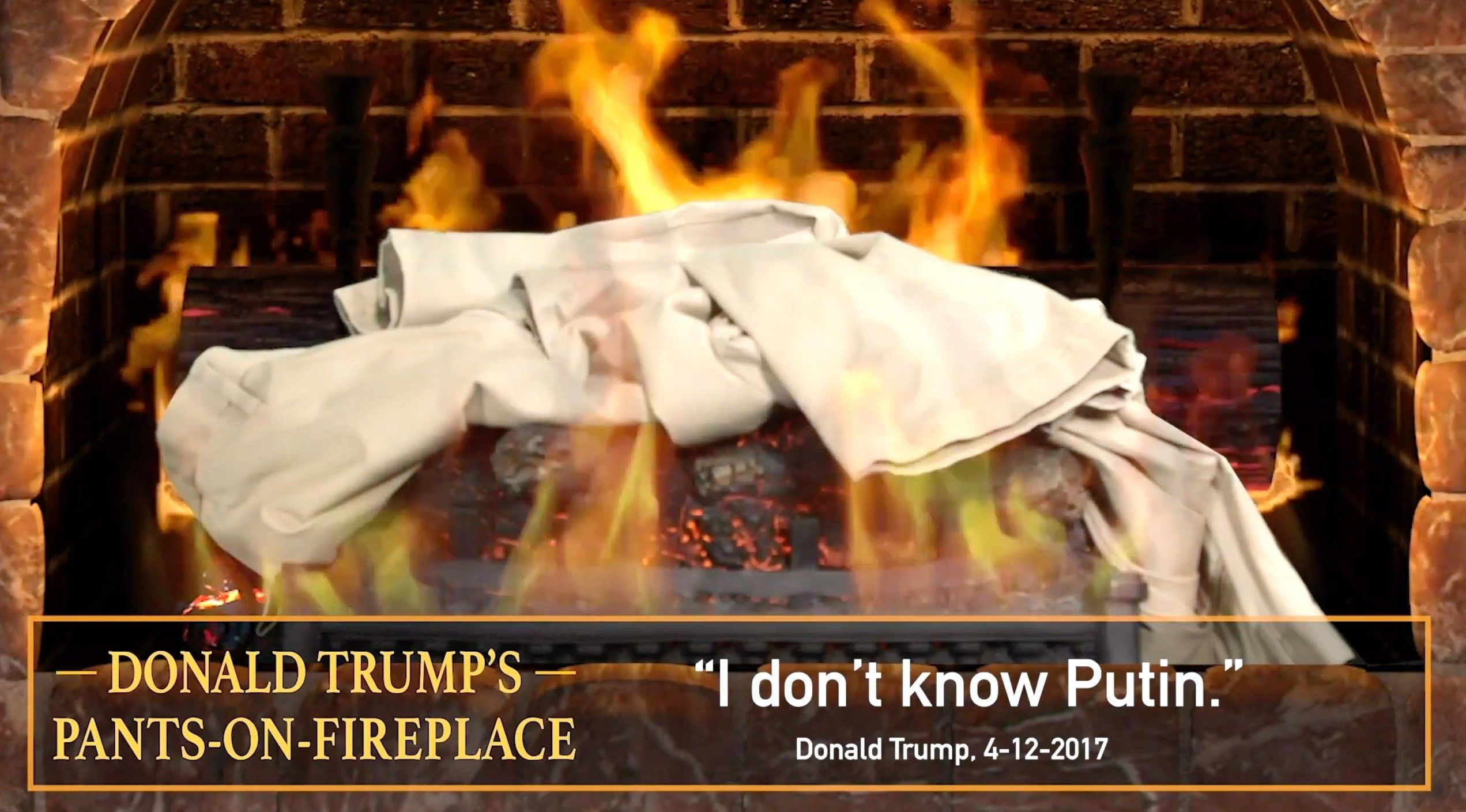 Pants On Fire Yule Log