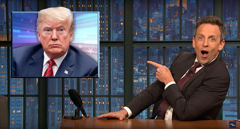 Seth Meyers: 'Trump Is Fundamentally Lawless'