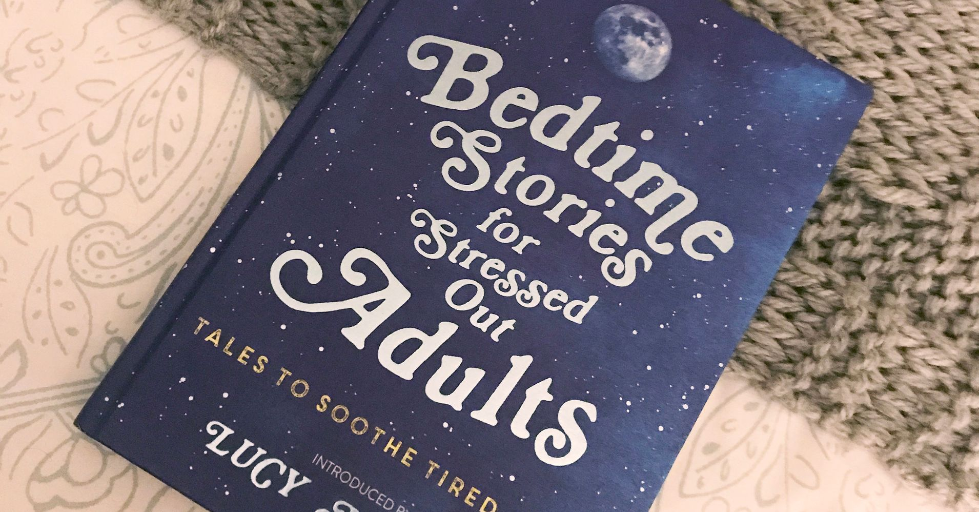 Bedtime Stories For Stressed-Out Adults: Can Reading Before Bed Help