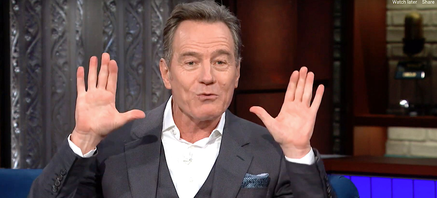 Bryan Cranston Reveals The 3 Things Making Him 'Mad As Hell' In The Trump Era