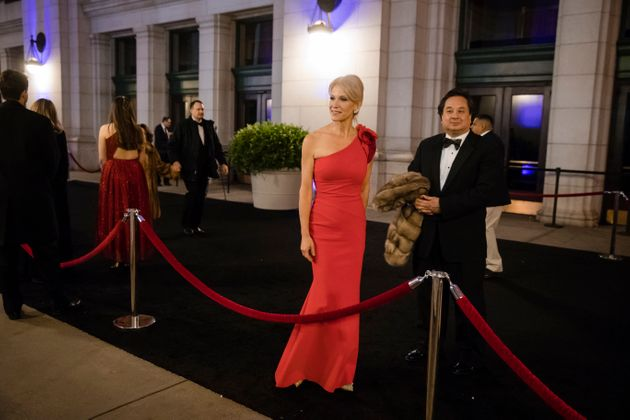 Kellyanne et George Conway à l'investiture de Donald Trump - Photo