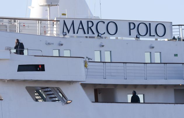 The couple were travelling on board the Marco Polo, operated by Cruise and Maritime