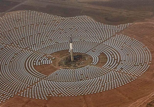 La centrale solaire Noor de Ouarzazate au