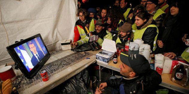 Les gilets jaunes, à l'image de 21 millions de Français, ont regardé l'allocution...