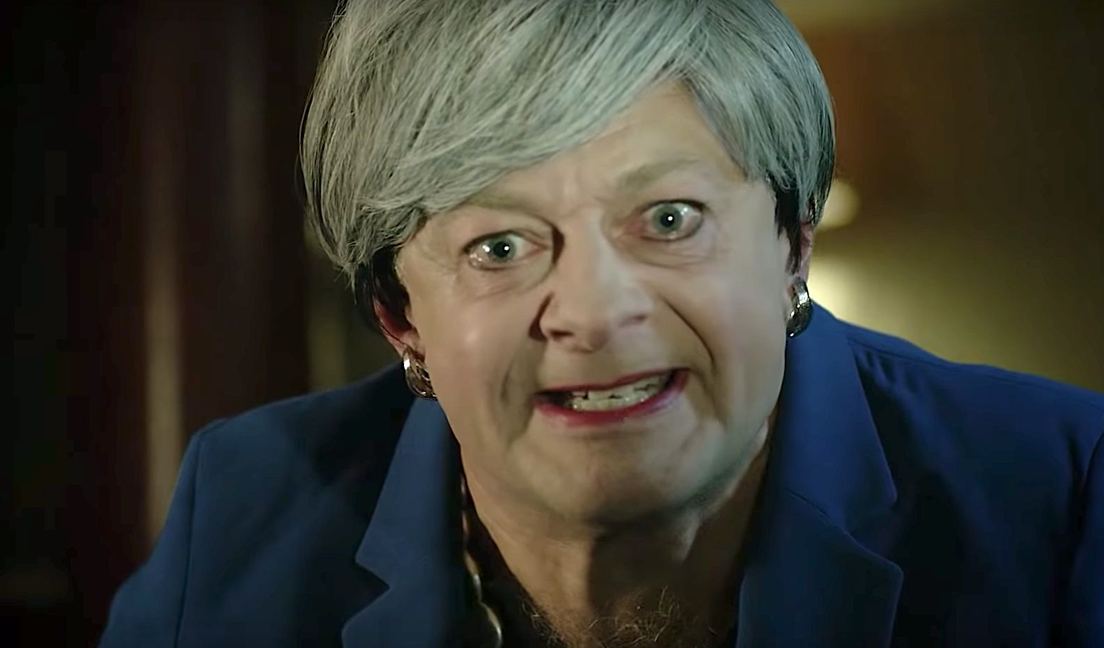 British PM Theresa May Goes Full Gollum In Precious Andy Serkis Parody