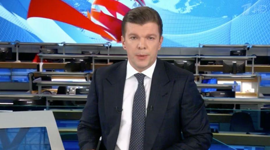 Kirill Klejmonow, Moderator beim Ersten Kanal