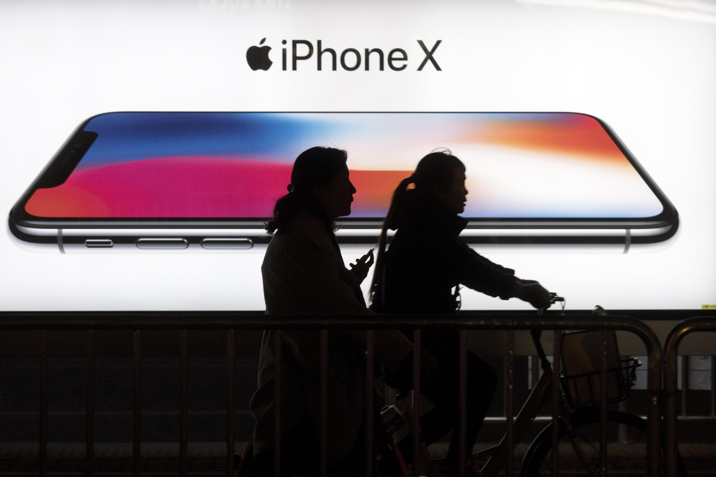 중국 법원이 아이폰 판매 금지 명령을 내린