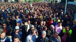 Marée humaine à Béjaïa en soutien à