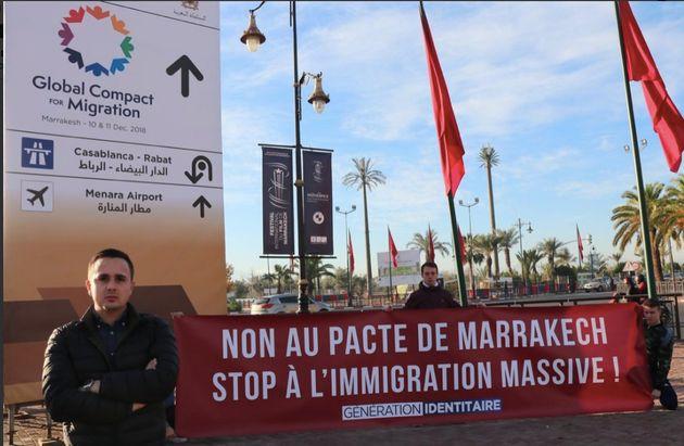 Des membres du groupuscule français d'extrême-droite Génération Identitaire auraient été arrêtés à
