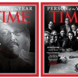 'The Guardians And The War On Truth' Named Time Person Of The Year
