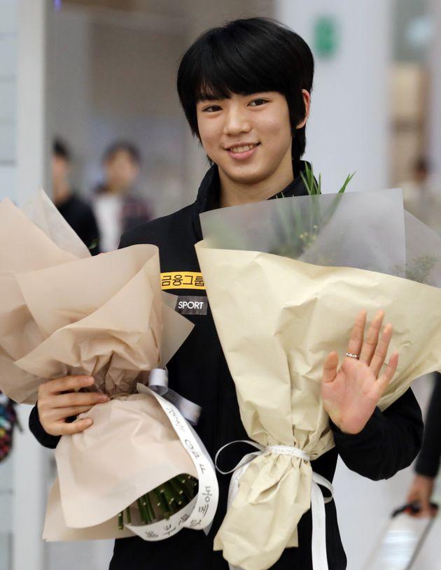 차준환이 한국 남자 선수 최초 그랑프리 파이널 동메달 획득 소감을