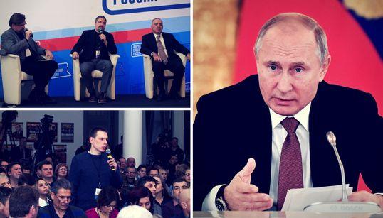 Eine Konferenz von Putin-Gegnern zeigt, wie tief Russlands Opposition gespalten