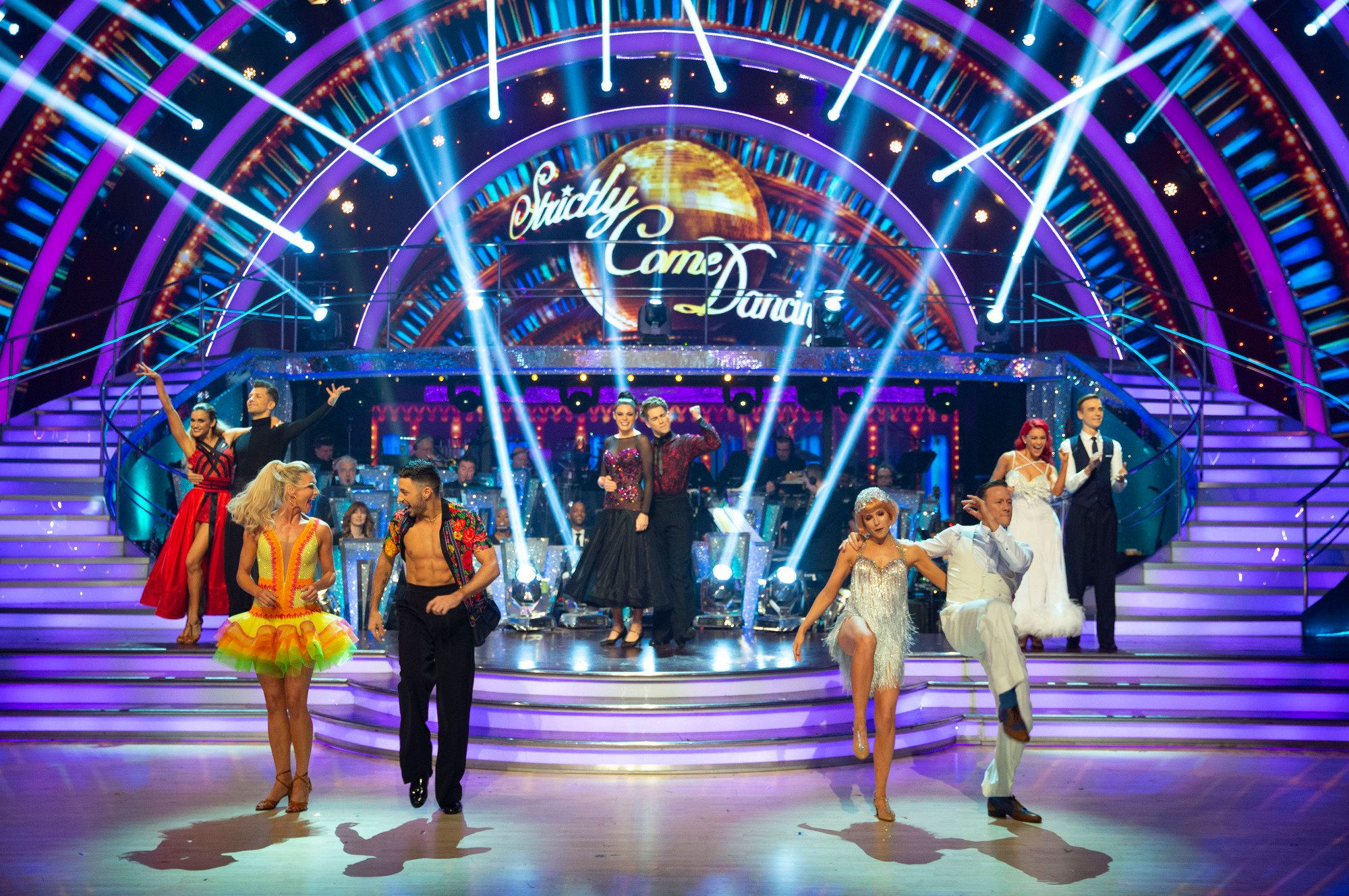 Strictly Come Dancing: the Final; The Apprentice
