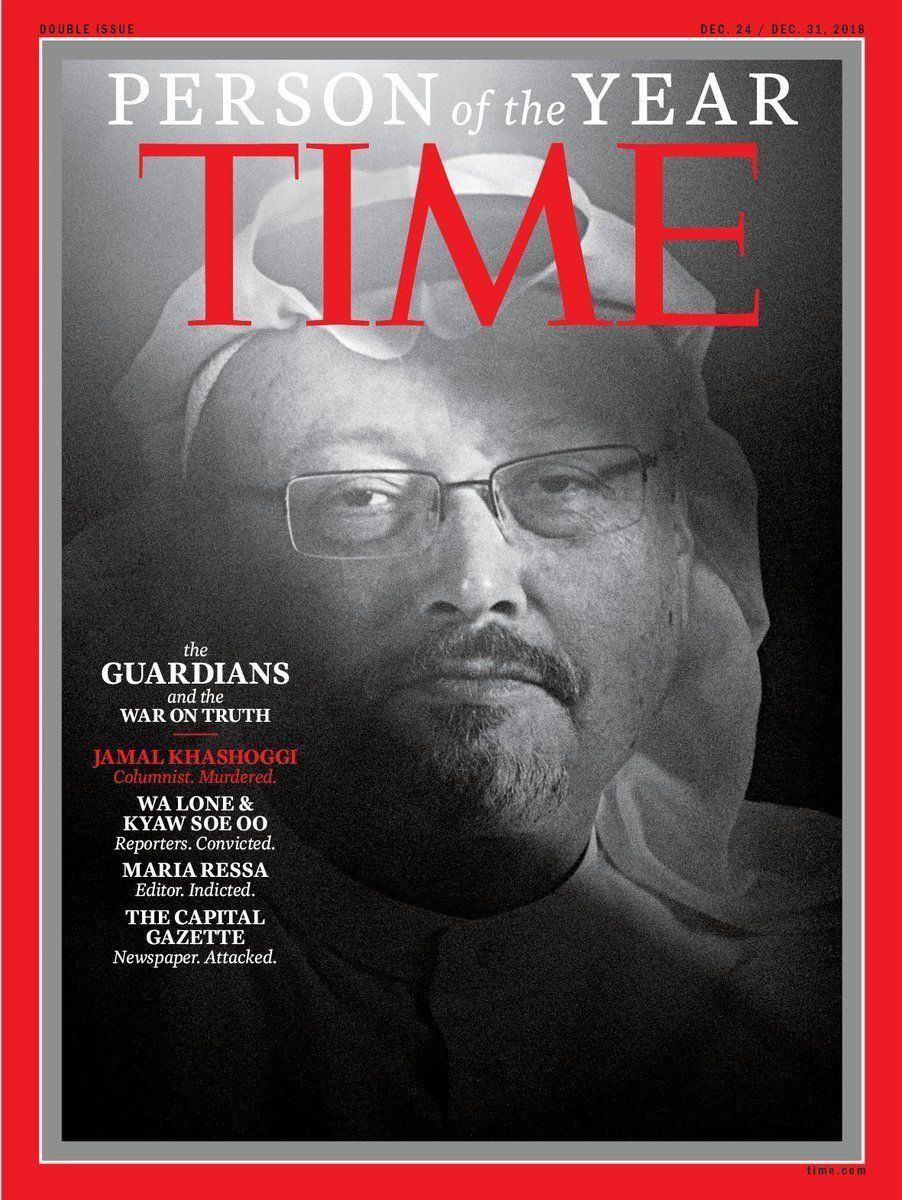 Journalists Under Attack Named Time Magazine's 2018 Person Of The Year