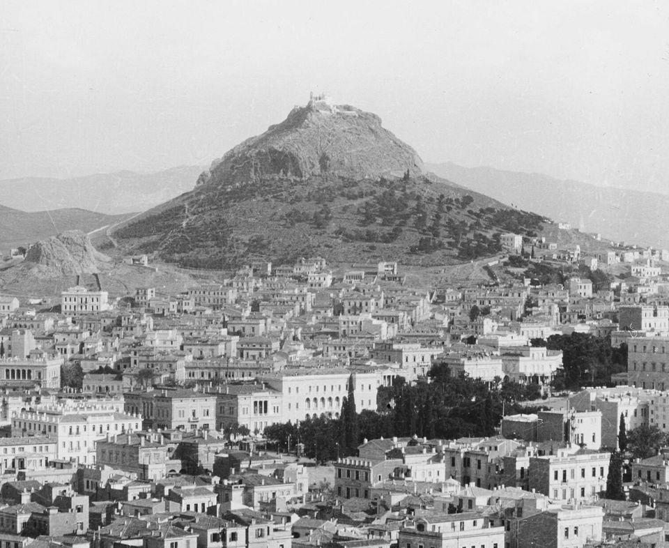 Άποψη της Αθήνας από την...