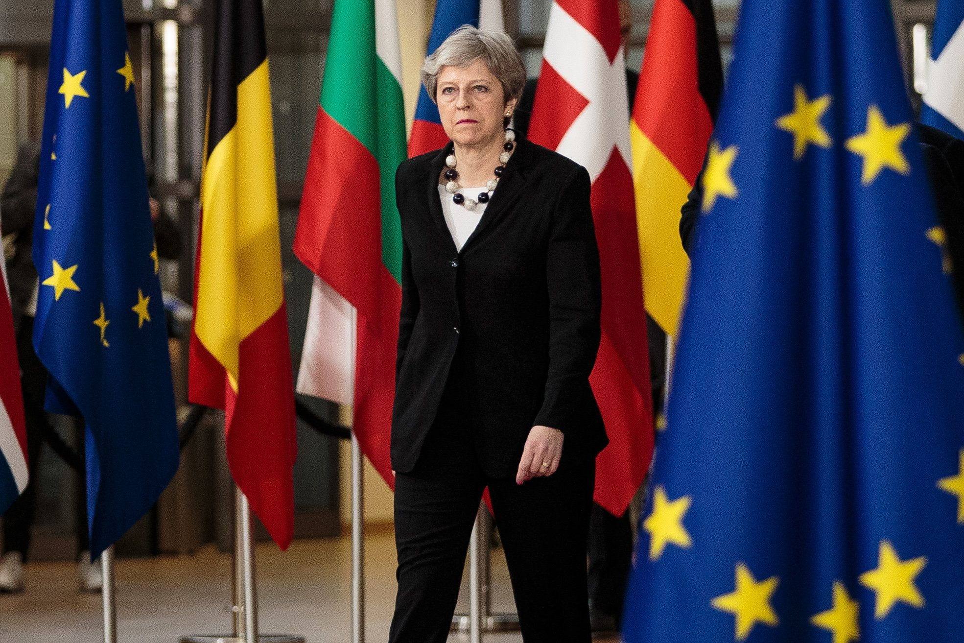 Knives Out For Whips As May's Brexit Plan Teeters On Collapse