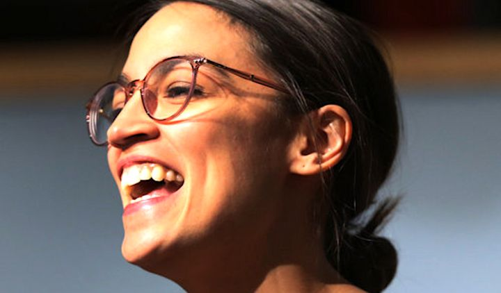 Alexandria Ocasio-Cortez isn't entering office meekly.