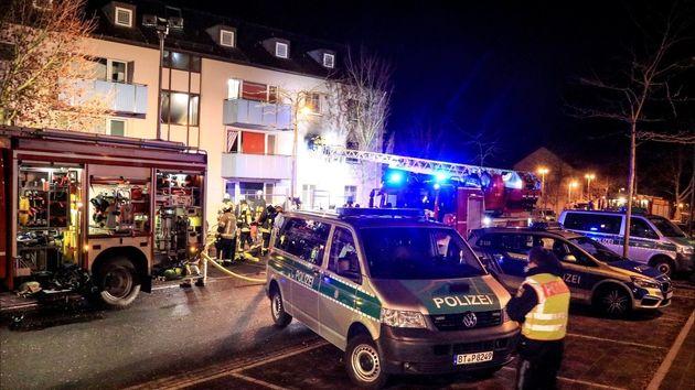 Bamberg: Randale und Feuer in Ankerzentrum – elf Verletzte