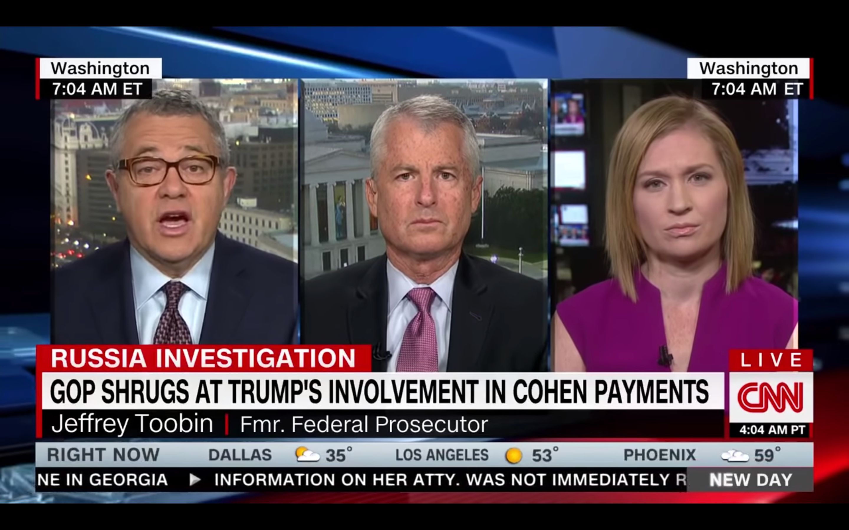 Jeffrey Toobin Makes Bold Prediction About GOP's Future Support Of Trump