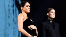 Meghan Markle Makes Surprise Appearance At British Fashion