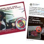 AfD-Rechtsaußen Höcke wirbt für Vita Cola – doch kannte er wohl nicht deren
