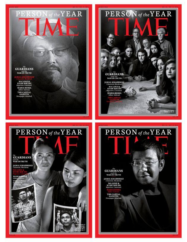 Time: Πρόσωπα της χρονιάς ο Τζαμάλ Κασόγκι και οι