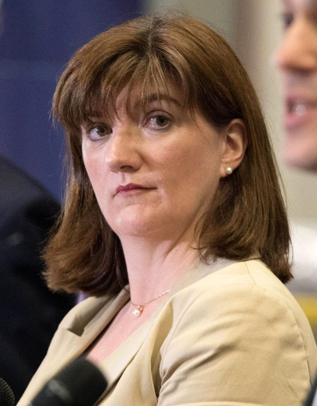 Former education secretary Nicky Morgan wants a government of national
