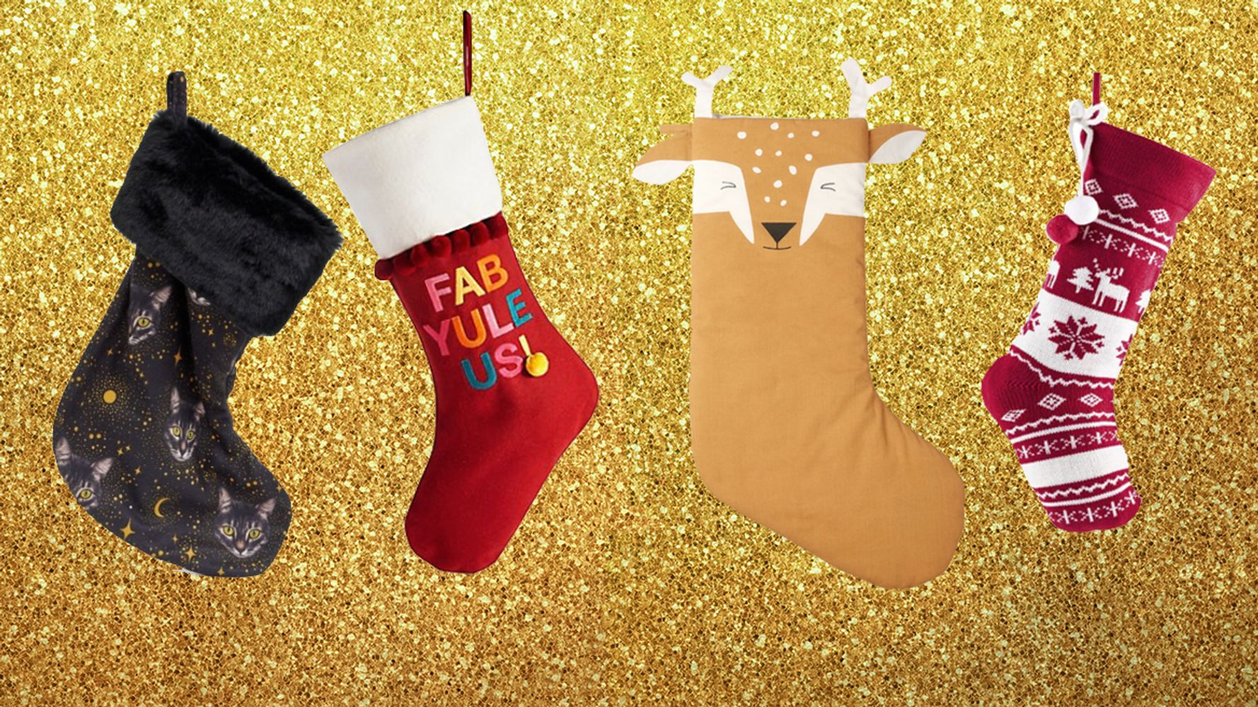 11 Christmas Stockings For The Whole Family From Traditional To