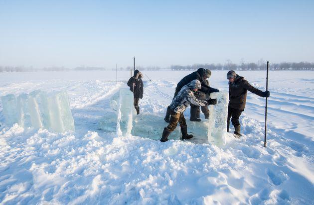 Le dégel du permafrost menace 70% des infrastructures en