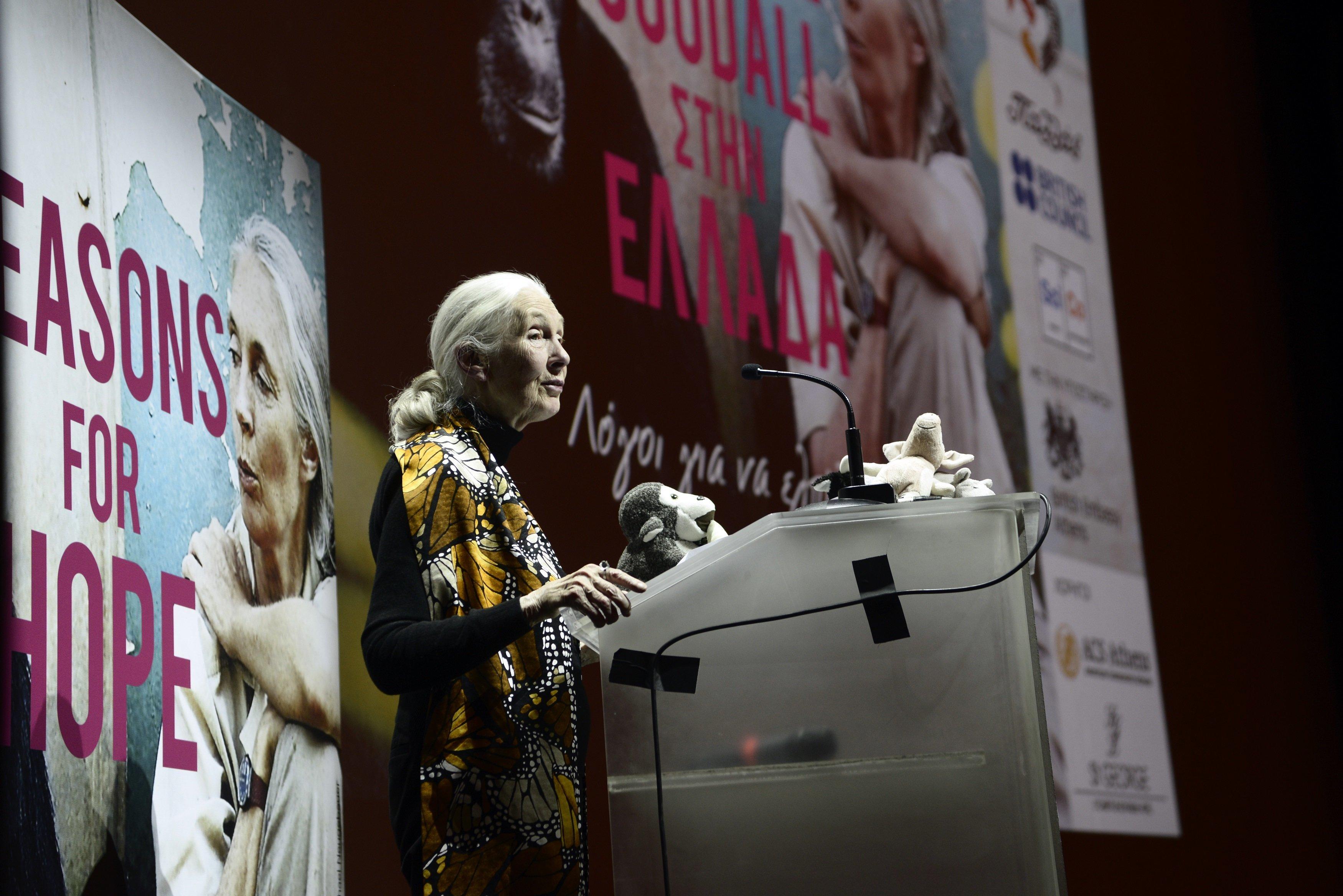 Τζέιν Γκούντολ: Στην Αθήνα η γυναίκα - θρύλος, που άνοιξε τα μάτια των ανθρώπων για τους