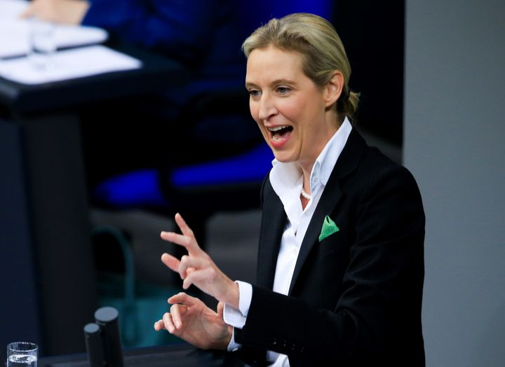 Alice Weidel, a co-leader of the far-right Alternative for Germany.