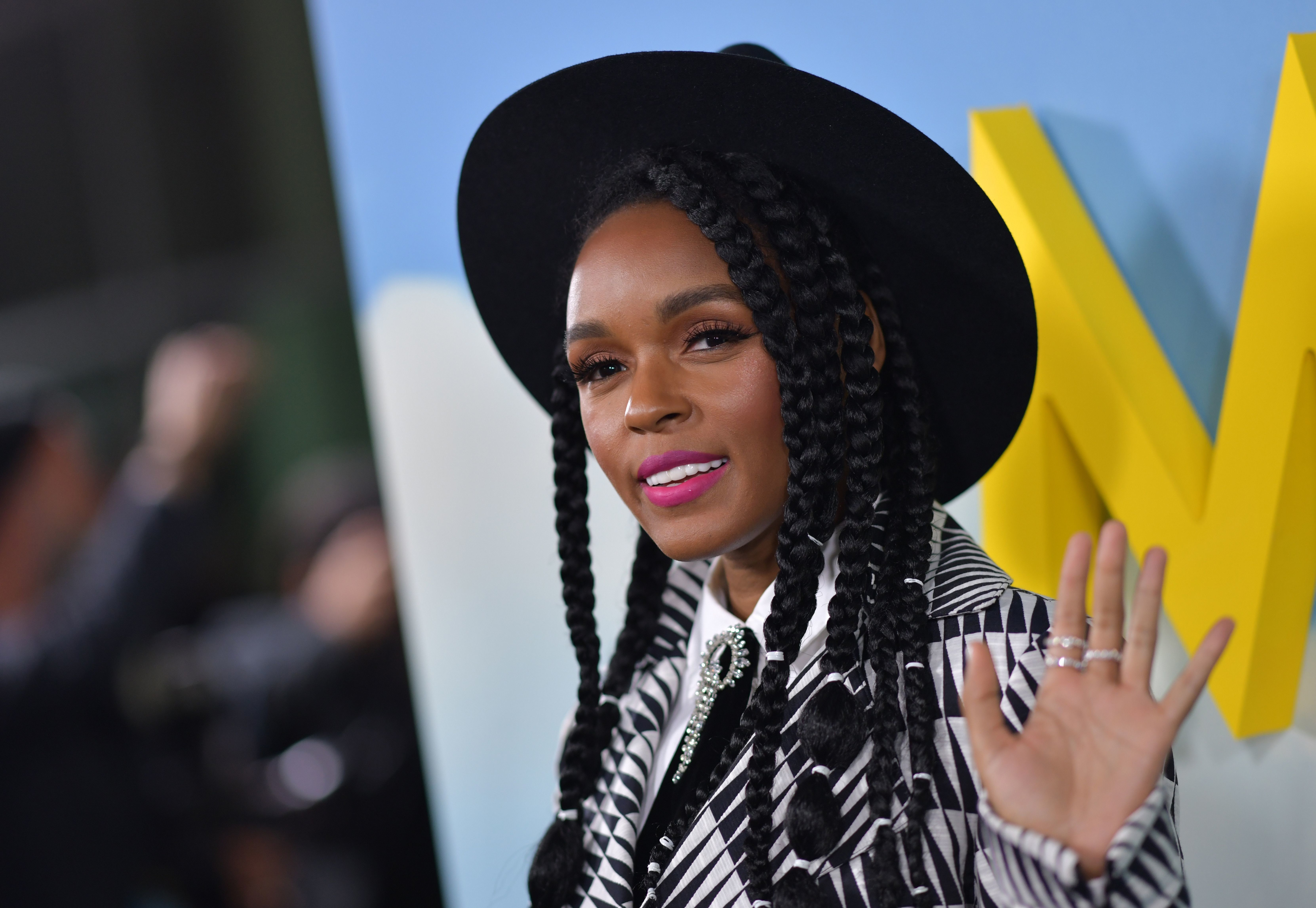 US actress/singer Janelle Monáe attends the premiere of 'Welcome to Marwen' at the Arclight theatre in Hollywood on December 10, 2018. (Photo by Chris Delmas / AFP)        (Photo credit should read CHRIS DELMAS/AFP/Getty Images)