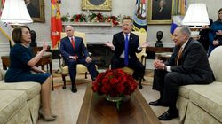 Trump Battles With Nancy Pelosi And Chuck Schumer Over Border Wall