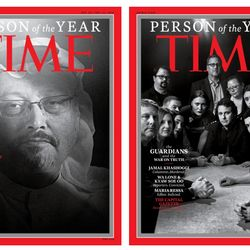 Time Magazine Honouring Journalists For 2018′s Person Of The Year Sends A Stark Message Of Defiance To Donald