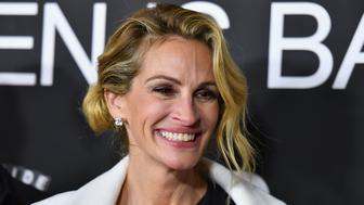 US actress Julia Roberts attends the 'Ben Is Back' New York premiere at AMC Loews Lincoln Square on December 3, 2018 in New York City. (Photo by Angela Weiss / AFP)        (Photo credit should read ANGELA WEISS/AFP/Getty Images)