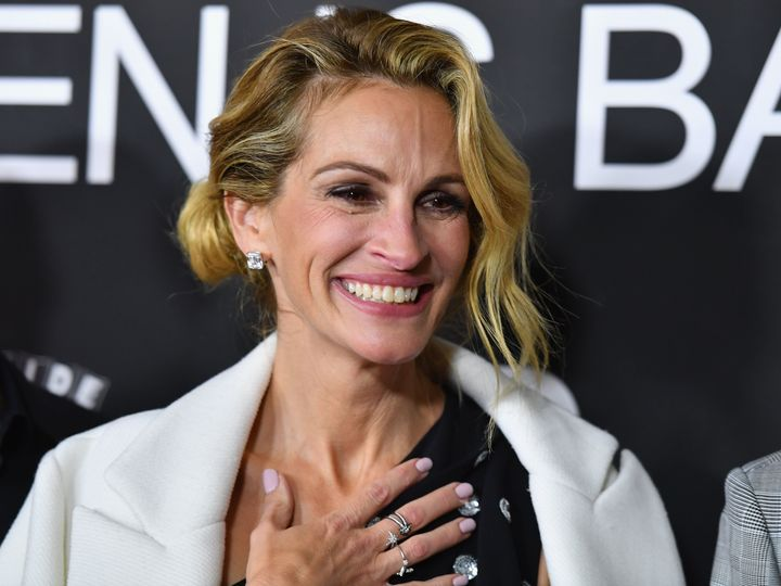 "Julia Roberts is currently starring in the film ""Ben Is Back."""