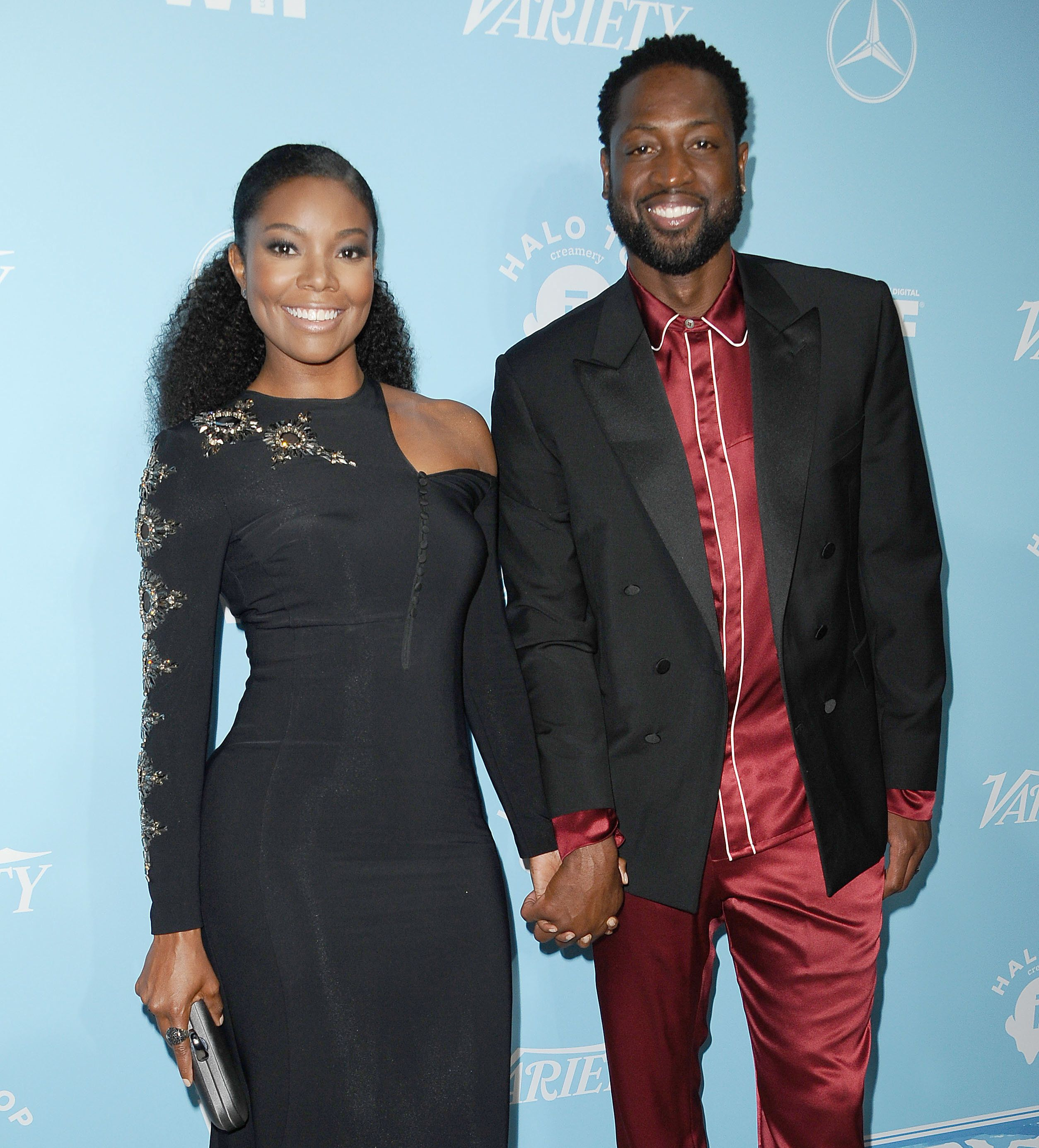 WEST HOLLYWOOD, CA - SEPTEMBER 15:  Gabrielle Union and Dwyane Wade attend Variety and Women In Film's 2017 pre-Emmy celebration at Gracias Madre on September 15, 2017 in West Hollywood, California.  (Photo by Jason LaVeris/FilmMagic)