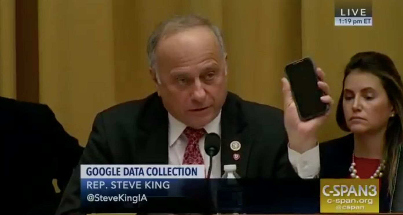 Hearing On Google Gave Congressmen Ample Opportunities For