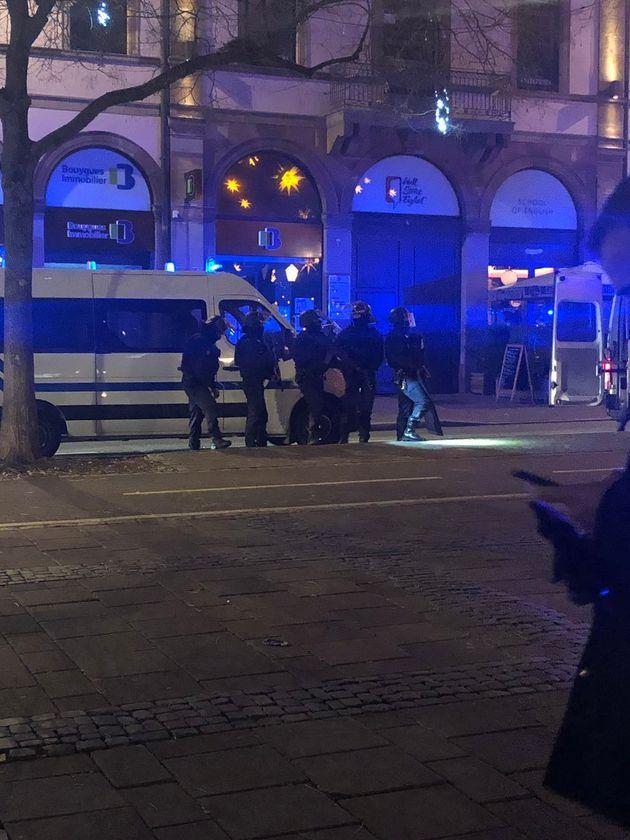 Fusillade au centre-ville de Strasbourg, non loin du marché de