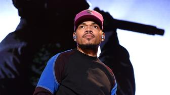 LOS ANGELES, CALIFORNIA - OCTOBER 31:  Chance The Rapper performs onstage during 'Mac Miller: A Celebration Of Life' Concert Benefiting The Launch Of The Mac Miller Circles Fund at The Greek Theatre on October 31, 2018 in Los Angeles, California. (Photo by Kevin Winter/Getty Images for LiveNation)