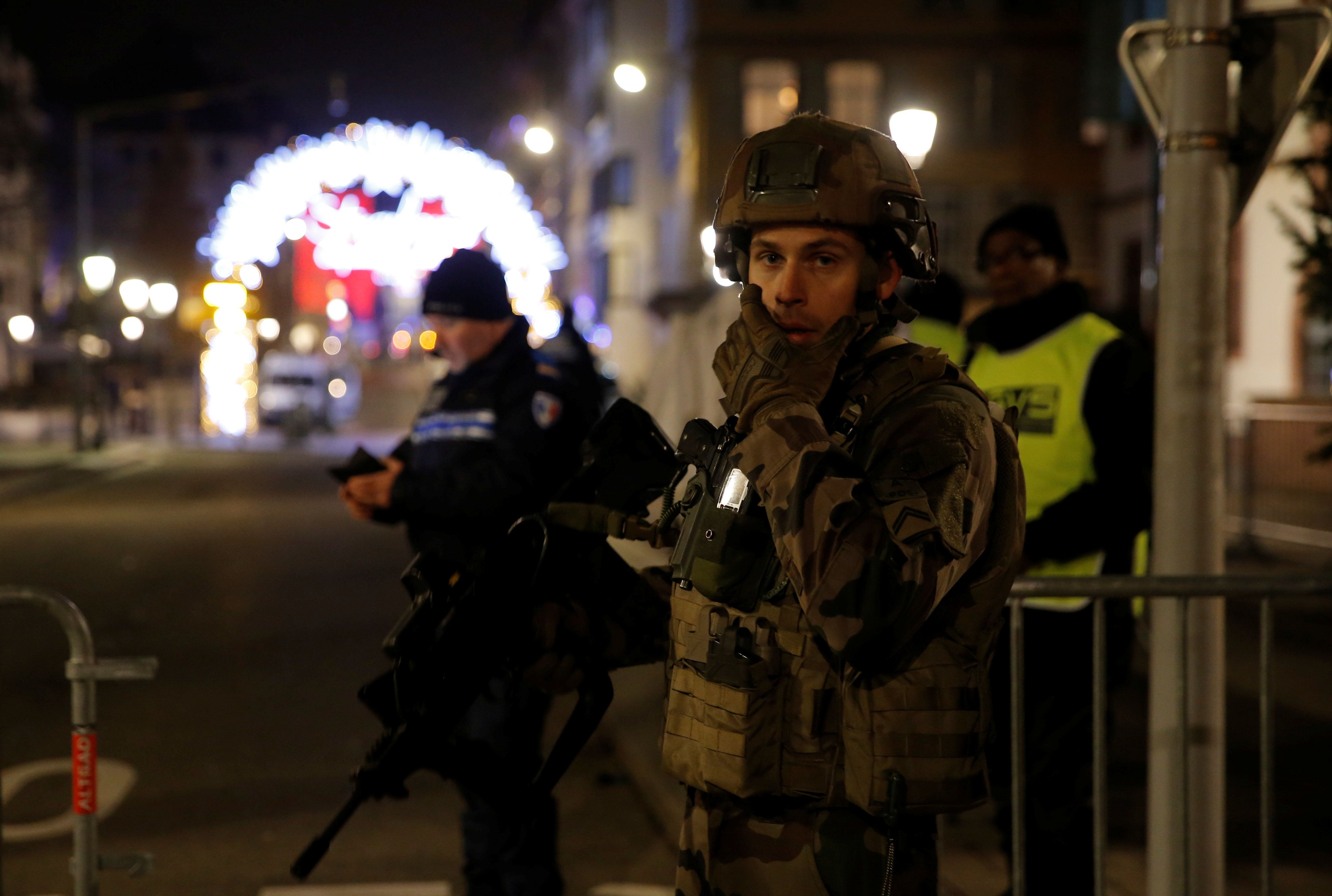 Strasbourg: 'Extremist' Gunman On The Run As Three Shot Dead Near Christmas