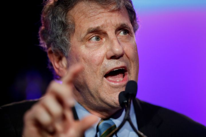 Sen. Sherrod Brown (D-Ohio) says he's spoken directly with the CEO of United Airlines about the missing tip jars.
