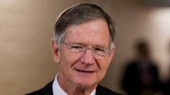 UNITED STATES - SEPTEMBER 7: Rep. Lamar Smith, R-Texas, leaves the House Republican Conference meeting in the Capitol on Wednesday morning, Sept. 7, 2016. (Photo By Bill Clark/CQ Roll Call)