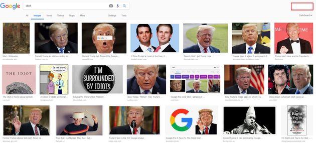 미 의원이 구글 사장에게 왜 '바보'를 검색하면 트럼프가 나오는지를 물은
