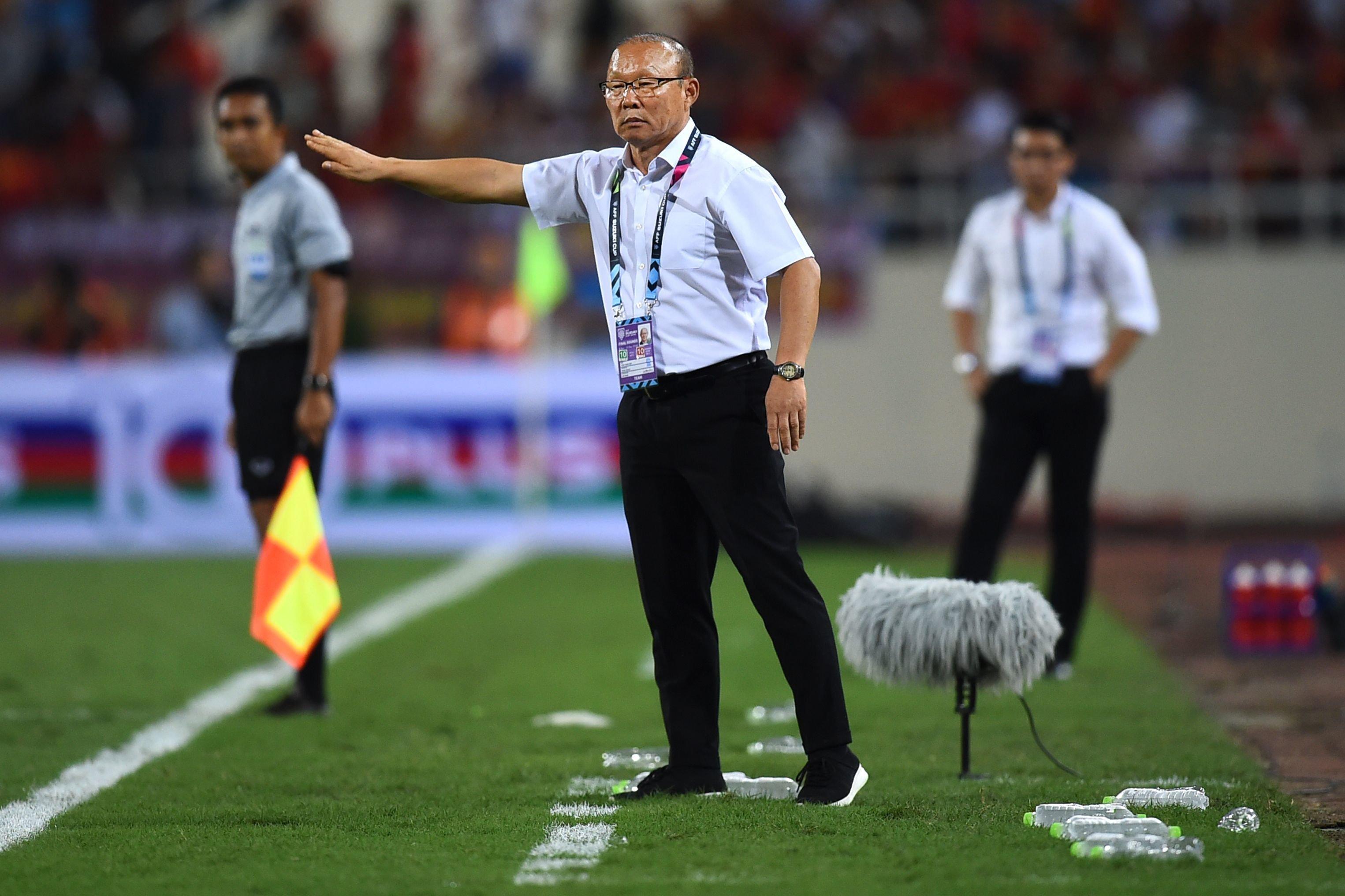 베트남-말레이시아 결승 1차전 후 박항서가 팬들에게 당부한