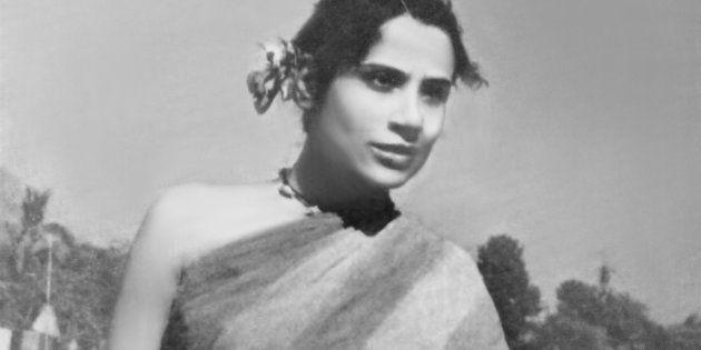 Indian actress Tripti Mitra in a still from 'Jago Hua Savera'.