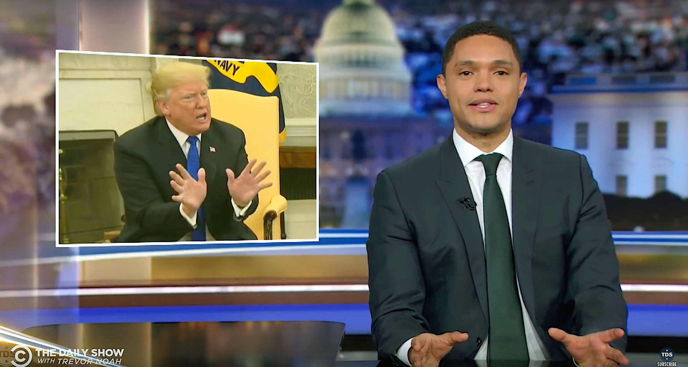 Trevor Noah Says He's 'Proud Of President Trump' – Here's Why