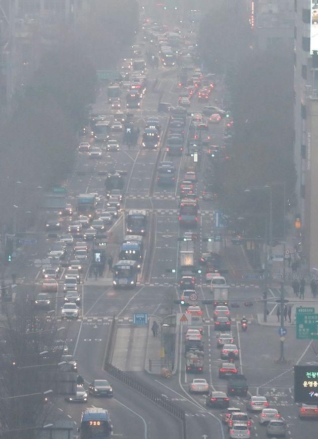 전국에서 '가장 나쁜 공기'를 마셔야 하는 곳은 서울의 이
